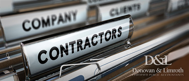 Contractors, company and clients files
